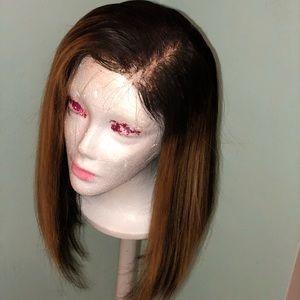 Used custom lace wig